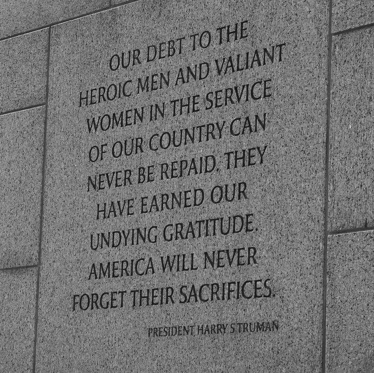 memorial day quotes harry truman