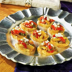 Birds Eye® Bruschetta with Caramelized Peppers & Onions with Goat Che ...