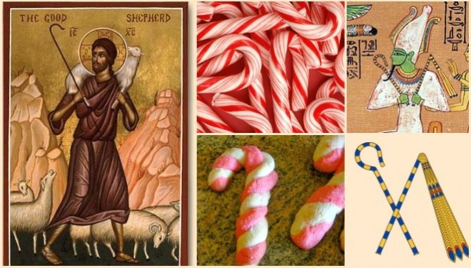 Canes and crooks the origin of the candy cane for christmas