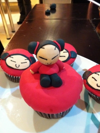 Pucca Cupcakes