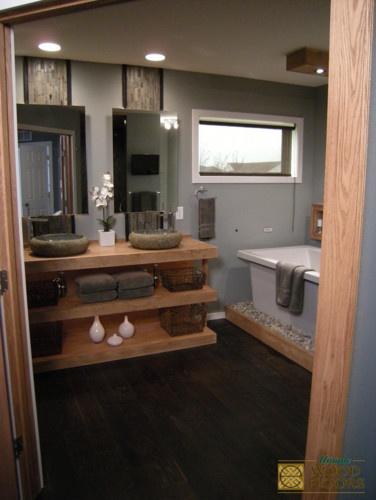 Bathroom Rustic Modern House Pinterest