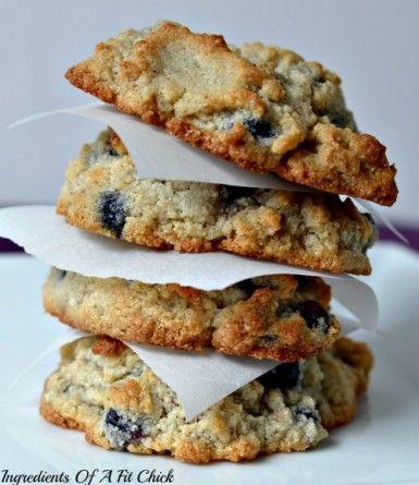 GF Blueberry Lemon Drop Cookies | Recipes 2 try | Pinterest