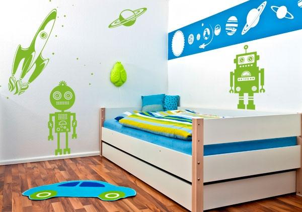 Idees De Cuisine Moderne Galerie : Childrens Decal SPACE theme, Gali Art  WALL DECALS  Pinterest