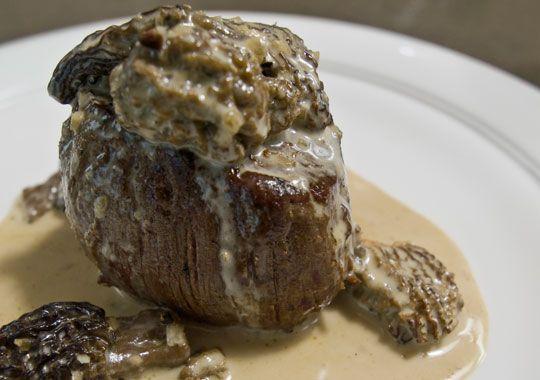 Filet Mignon with Morel Cream Sauce | Steak and Beef | Pinterest
