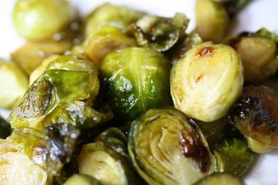 maple & mustard glazed Brussels Sprouts | Delish | Pinterest