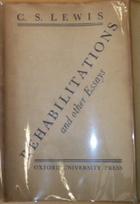 rehabilitations and other essays