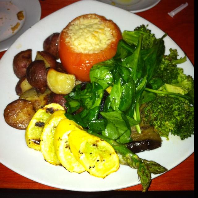 mushroom, eggplant, spinach, zucchini, broccoli, mushroom polenta ...
