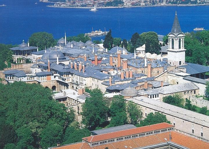 Topkapı Palace - İstanbul  architectures.  Pinterest