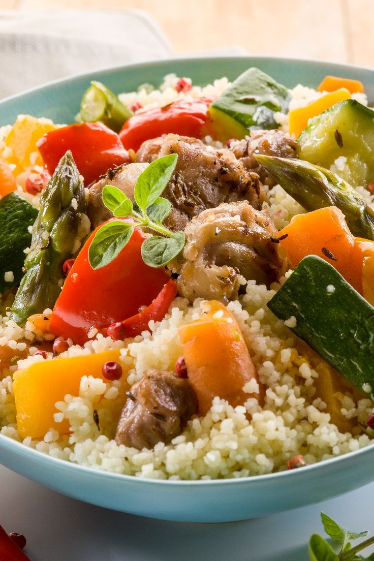 25-Minute Tunisian Vegetable Couscous - leave the cheese out or use ...
