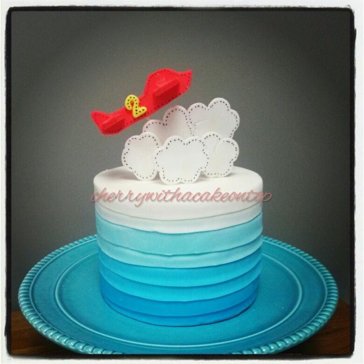 Plane cake Rory s 1st Birthday Pinterest