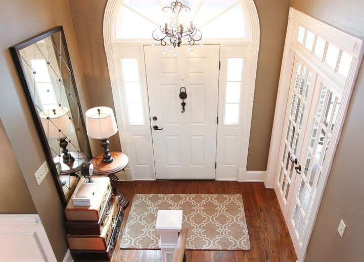 Taupe Foyer Rug : Sherwin williams color virtual taupe home decorating