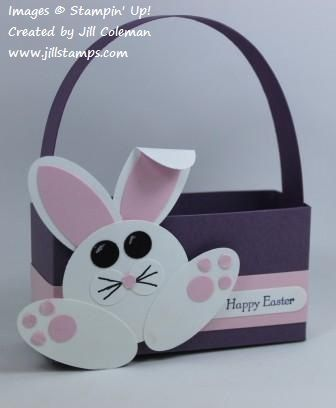 Punch Art Easter Bunny Box