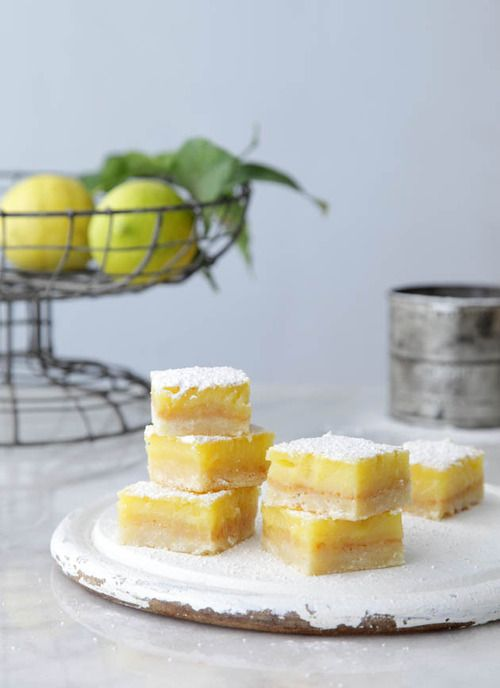 Classic Lemon Bars | yummy recipes | Pinterest