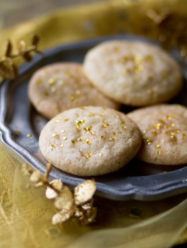 Silver & Gold: Shimmering Snickerdoodles | Sweet Recipes | Pinterest