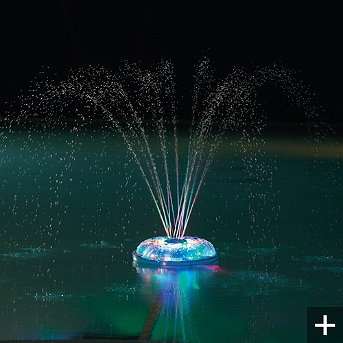 Dancing waters light show fountain home is where the for Pool light show walmart