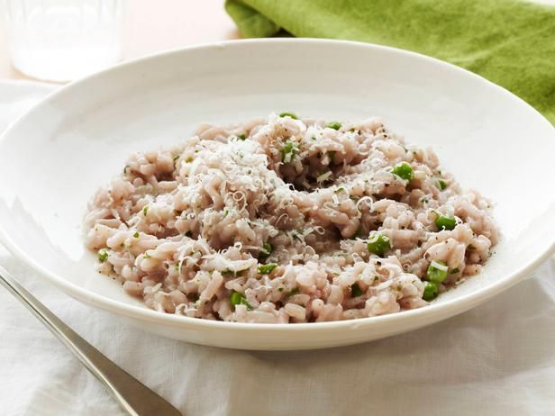 Red Wine Risotto with Peas #RecipeOfTheDay