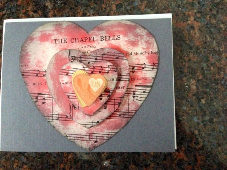 valentine card with music