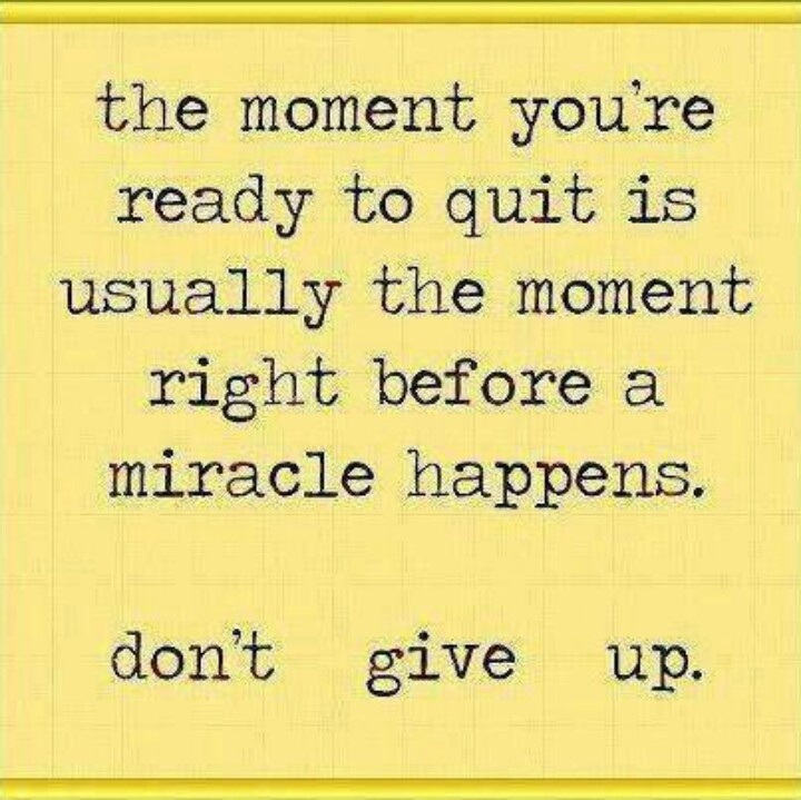 never give up motivational quotes quotesgram