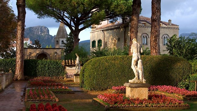 The gardens of Villa Cimbrone in Ravello