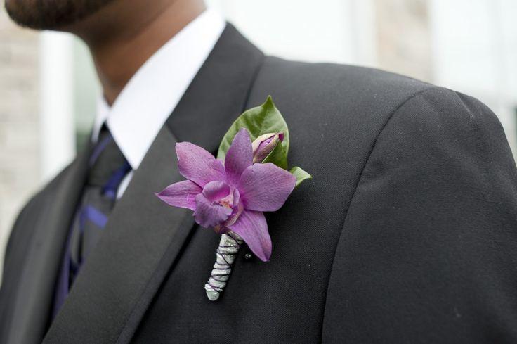 Boutoniere de orquídea
