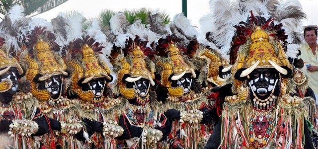 Festival of Moors and Christians, Moraira, Spain