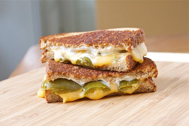 jalapeno popper grilled cheese | Food | Pinterest