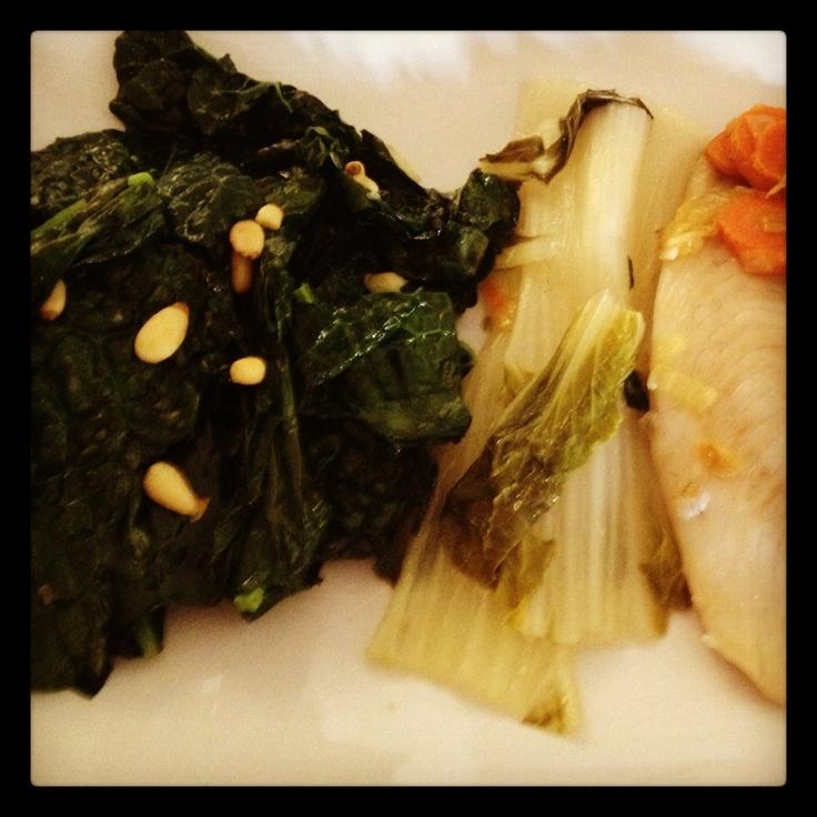 Sautéed Kale With Toasted Cashews Recipes — Dishmaps