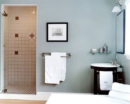paint colors bathrooms blue bathroom paint remodeling concept