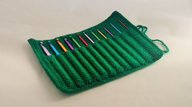 ... crochet hook case, various colours available, with or without hooks