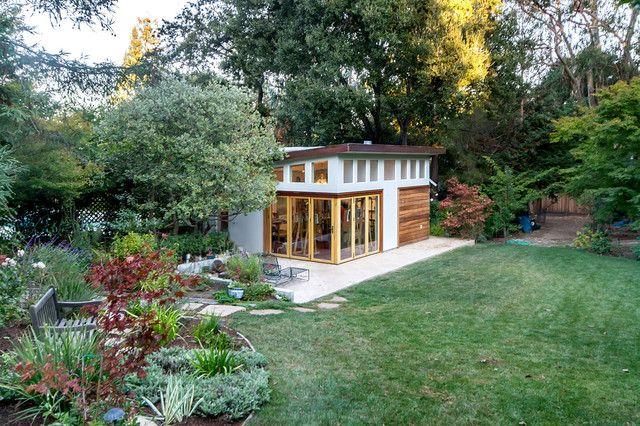 Backyard Studio Eco House Ideas Pinterest