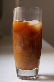 Easy cold brewed coffee drink... No coffee maker required!