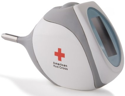 baby thermometer. | american red cross 5-second rectal thermometer.