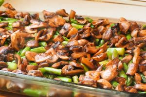 ... Breakfast Casserole Recipe with Asparagus, Mushrooms, and Goat Cheese