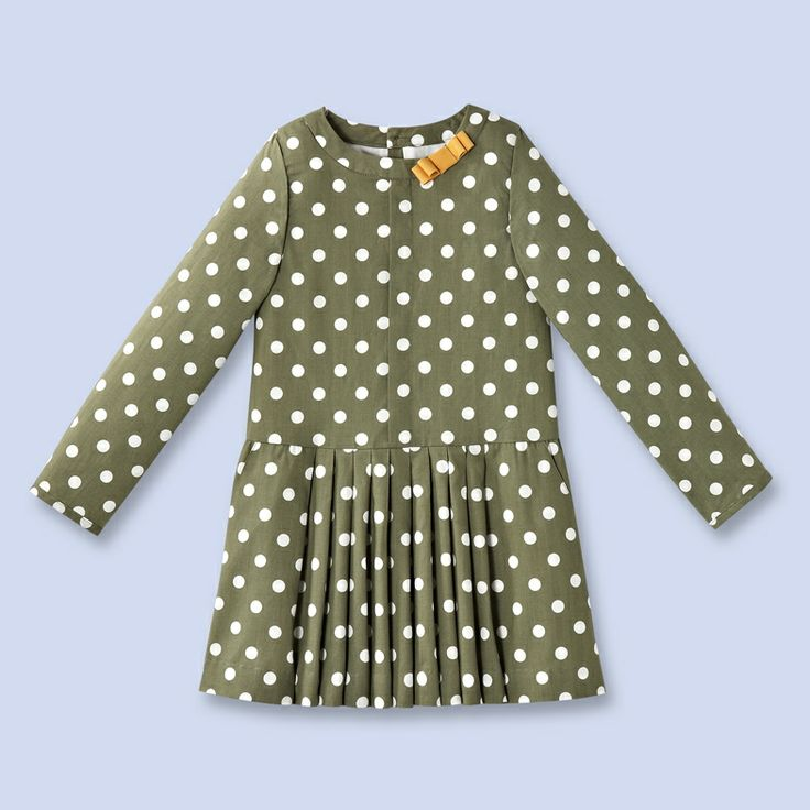 French polka dot dress. On sale.
