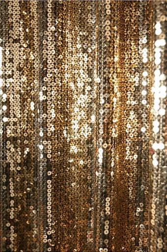 Gold Sequins Beaded Curtain Drapery Panel Room Divider Handmade, Order ...