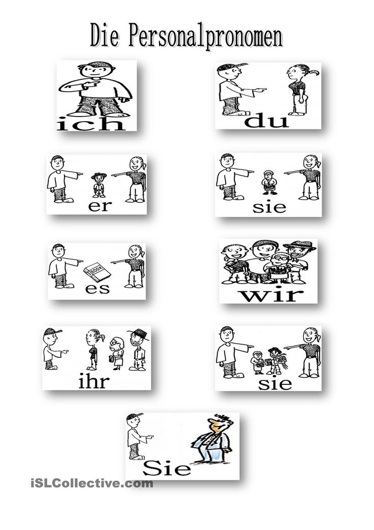 Possessivpronomen Übung 1  Deutschseite