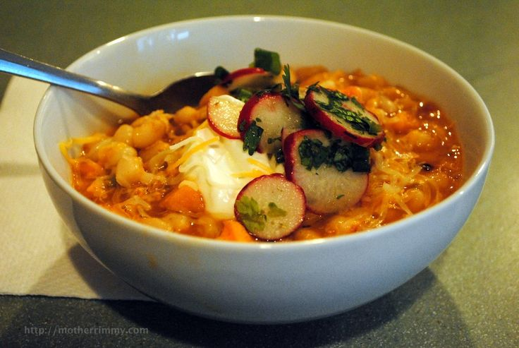 Gluten-Free Chicken Chili With White Beans, Sweet Potato And Lime ...