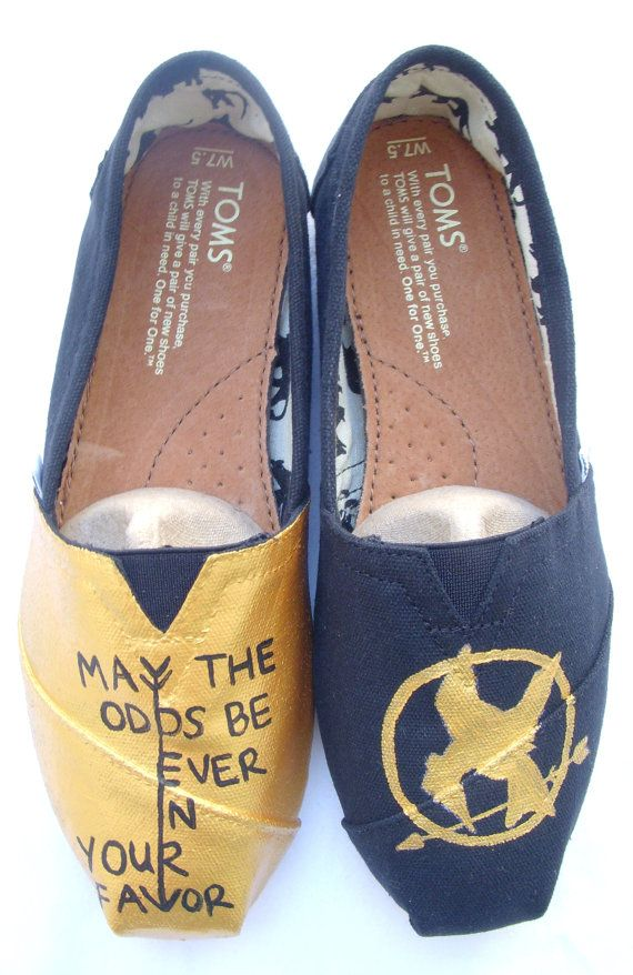The Hunger Games TOMS!