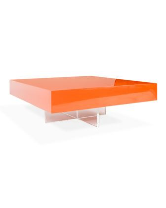 Jonathan Adler Lacquer Block Coffee Table At Horchow