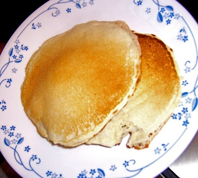 Whole Wheat Apple Cinnamon Pancakes With Cinnamon Syrup Recipes ...