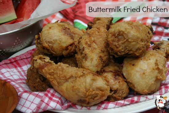 Buttermilk Fried Chicken Recipe from PocketChangeGourmet.com