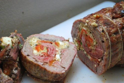 Stuffed Flank Steak | Meat Dishes | Pinterest