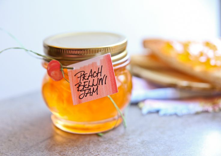 Peach Bellini Jam - another way to enjoy Prosecco at Brunch!
