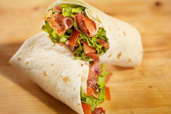 blt lettuce wraps the skinny fork blt lettuce wraps recipe yummly blt ...