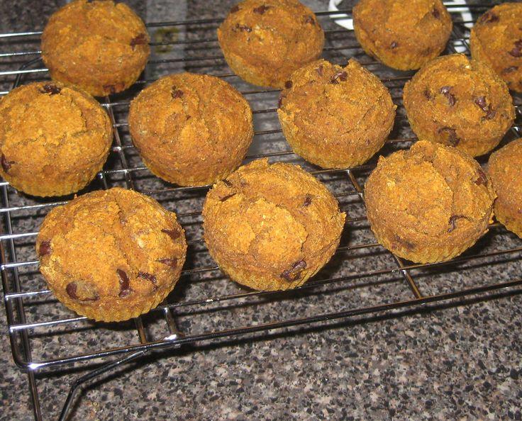 PECAN CHOCOLATE CHIP MUFFINS- Vegan, Gluten-Free, Refined Sugar-Free ...