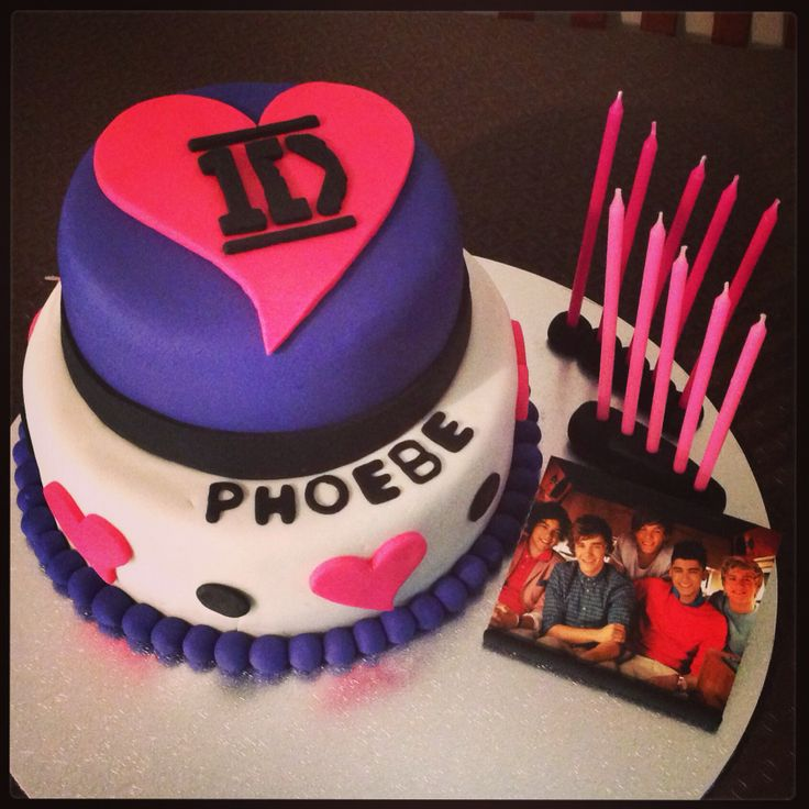 One Direction Birthday Cake Ideas