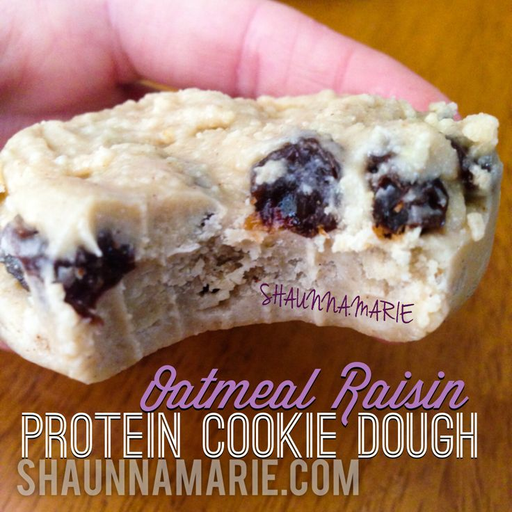 Protein Cookie Dough - SHAUNNA.MARIE #glutenfree #cookies #healthy ...