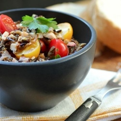 Wild Rice and Smoked Turkey Salad Recipe   Salads   Pinterest