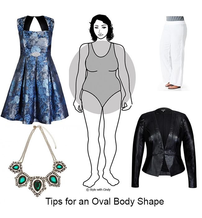 Dressing Tips For An Oval Body Shape Clothes Pinterest