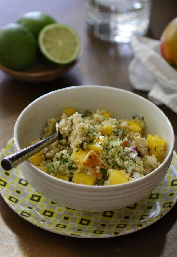 Grilled Chicken, Mango, and Avocado Quinoa Salad | Recipe